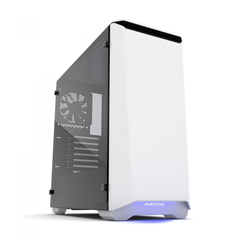 Phanteks Eclipse P400S Tempered Glass Blanc