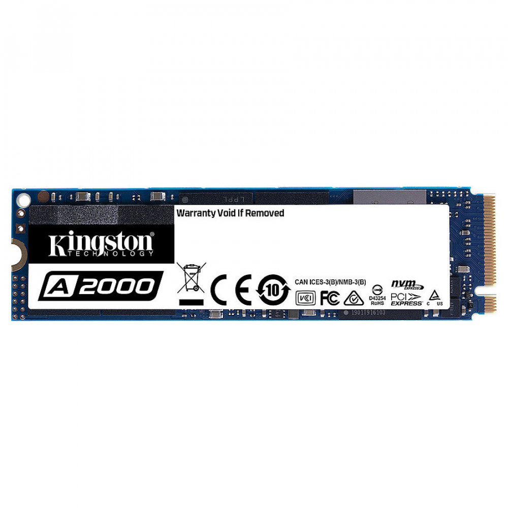 KINGSTON A2000 500 GO M.2 NVME