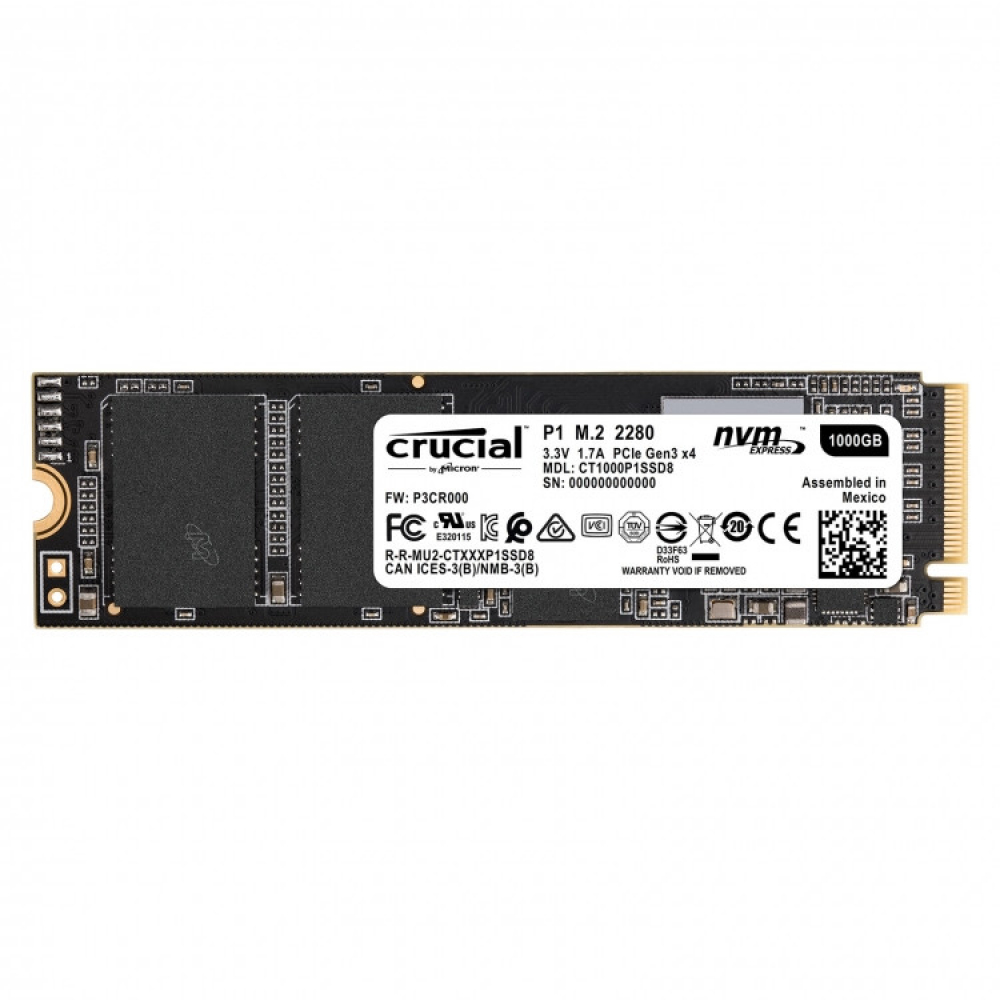 CRUCIAL P1 M.2 NVME 1 TO