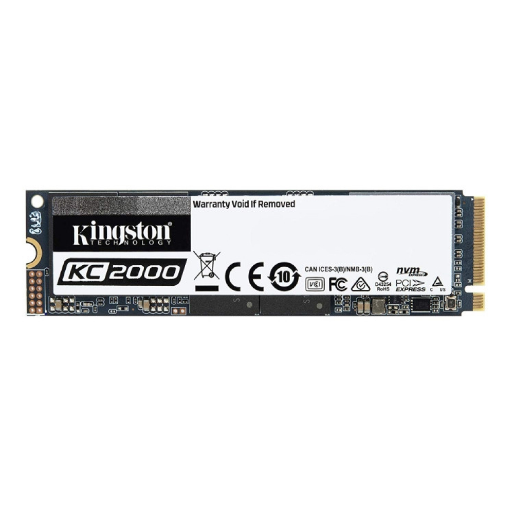 KINGSTON KC2000 500 GO M.2 NVME