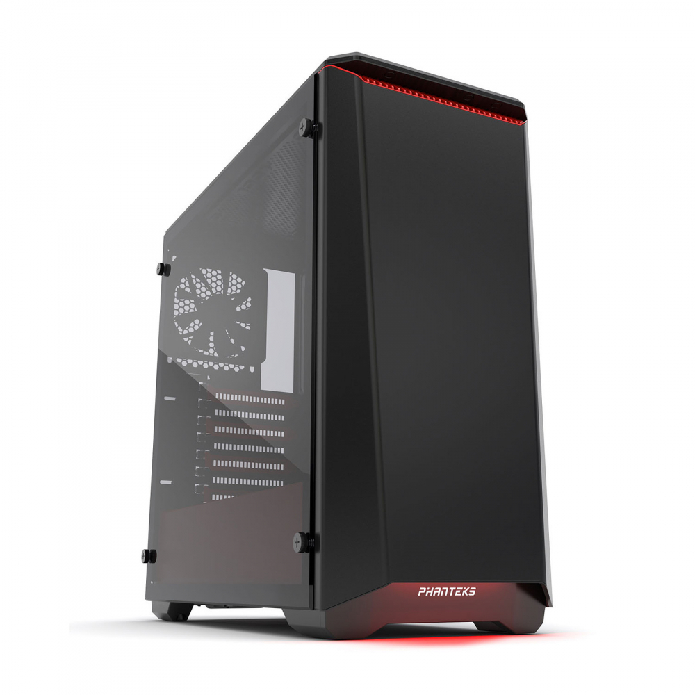 Phanteks Eclipse P400S Tempered Glass Special Noir-Rouge