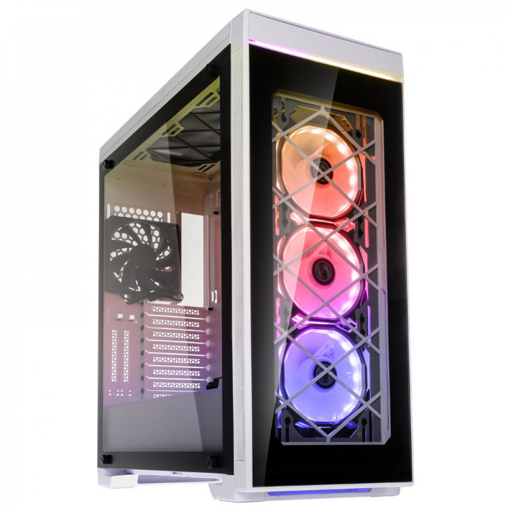 Lian Li Alpha 550W Tempered Glass Blanc